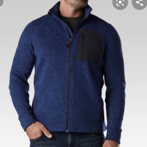 Far West Mock Neck Performance Sweater Pullover